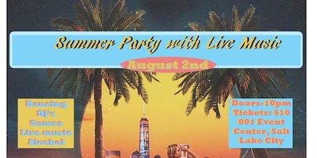 SLC Summer Sendoff tickets