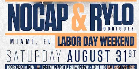 NoCap & Rylo Rodriguez (Labor Day Weekend) tickets