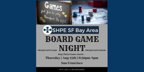 August Board Game Night tickets