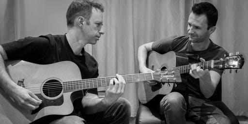 MMP presents: Acoustixs Duo at Waggon at Hale's Live Sun Garden Session