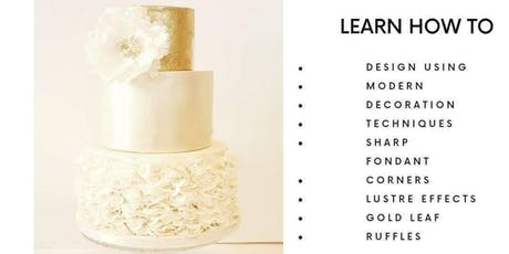 One Day Wedding 3 Tier Cake Diploma Class tickets