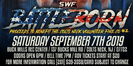 SWF Wrestling Live from Colts Neck NJ tickets