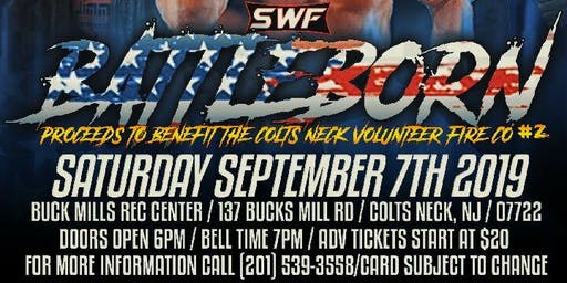 SWF Wrestling Live from Colts Neck NJ