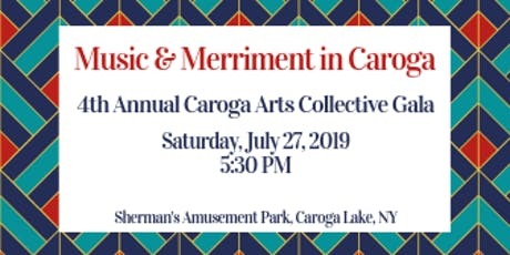 Caroga Arts Gala with Matthew Whitaker Quartet tickets