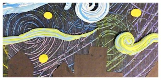 Parent & Child Create Night- Van Gogh's Starry Night (5-12 Years)