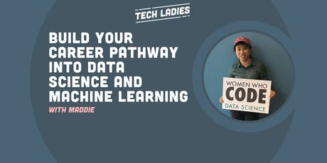 *Webinar* Build Your Career Pathway into Data Science and Machine Learning tickets