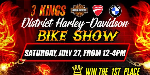 District 3 Kings Bike Show