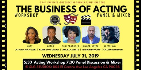 The Business of Acting: Workshop & Panel Discussion tickets