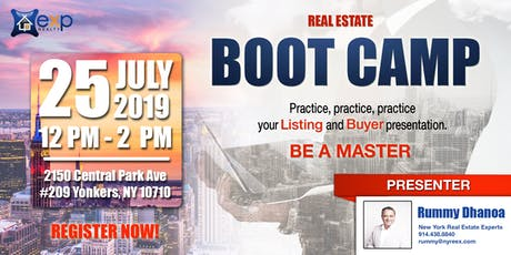 Real Estate Boot Camp tickets