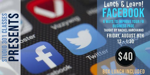 Lunch and Learn: Facebook for Business