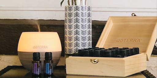 Essential oils class hosted by Jenna M