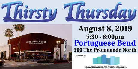 Thirsty Thursday - 2019 August tickets