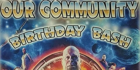 Our 2nd Annual Community Birthday Bash  tickets