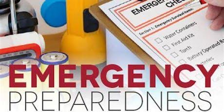 Household Disaster Preparedness  tickets