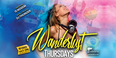 Wanderlust Thursdays tickets