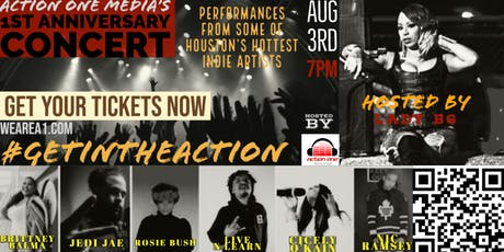 The Action One Media Anniversary Concert | Live Music from Houston Indie Artists tickets