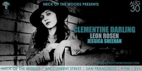 Clementine Darling, Leon Rosen, Jessica Sheehan tickets