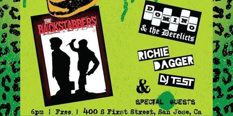 THE BACKSTABBERS tickets