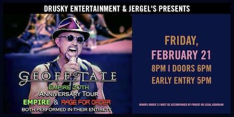 Geoff Tate Empire 30th Anniversary Tour tickets