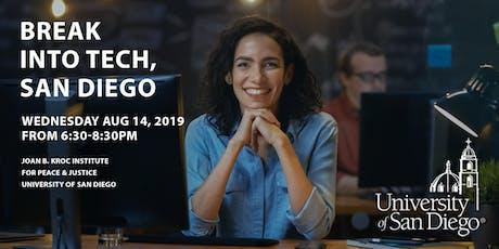 Break Into Tech, San Diego tickets