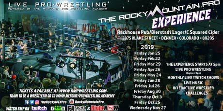 The Rocky Mountain Pro Experience tickets