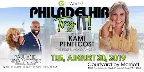 Philadelphia, PA Try IT With Kami Pentecost  tickets