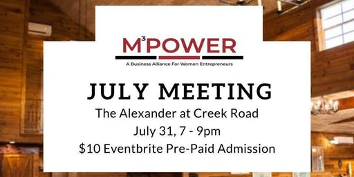 MPOWER July Meeting
