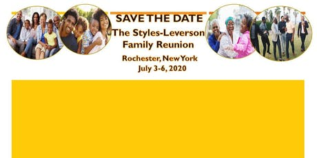 Styles-Leverson Family Reunion 2020 tickets