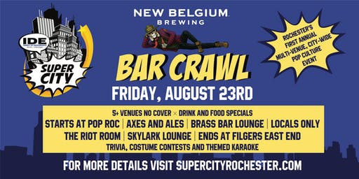 Super City: Super Bar Crawl