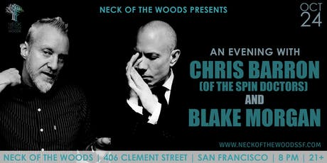 An Evening with Chris Barron (of The Spin Doctors) and Blake Morgan tickets