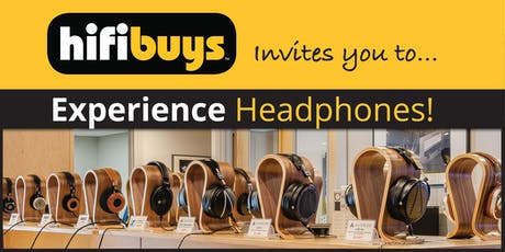 Experience Headphones! tickets