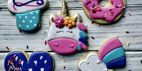 Unicorn Cookie Decorating Class tickets