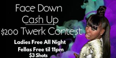 Ladies Night at #1 Atlanta Spot -Face Down Cash Up Twerk contest tickets