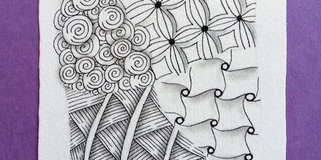 Introduction to Zentangle® Friday, August 30, 10:00 am tickets