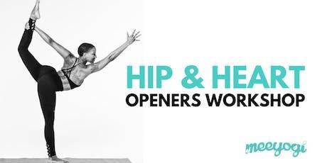 Hip & Heart Openers Yoga Workshop tickets