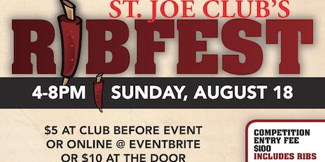 Rib Fest Cook-off Competition tickets