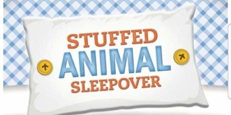 Stuffed Animal Sleepover 2019 tickets
