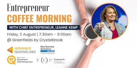 Entrepreneur Coffee Morning w/ Chief Entrepreneur Leanne Kemp tickets