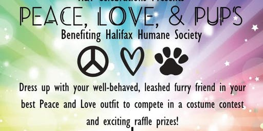 Peace, Love and Pups a fundraiser for Halifax Humane Society