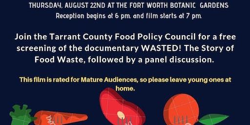 WASTED! The Story of Food Waste documentary: Free Screening