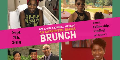Get a Girl a Kidney...Already: An Awareness-Raiser Brunch