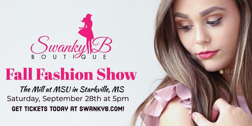 Swanky B Boutique Fall Fashion Show
