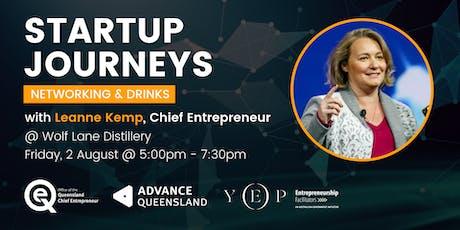 Startup Journeys w/ Chief Entrepreneur, Leanne Kemp tickets