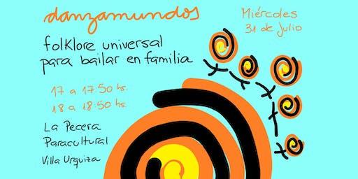 DANZAMUNDOS: Folklore universal para bailar en familia