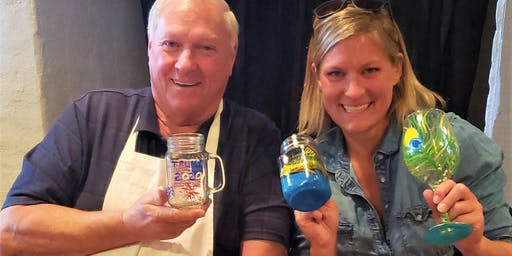 Paint a Pint Glass and Sample Huss Beer at The Quartiere