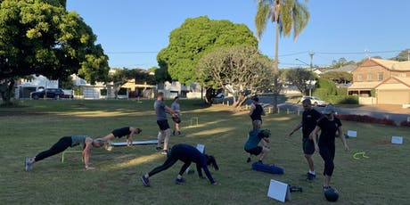 12RND Clayfield Free Outdoor Bootcamp tickets