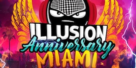 Illusion Anniversary Miami tickets
