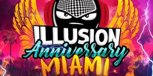 Illusion Anniversary Miami