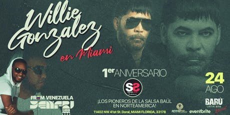 WILLIE GONZALEZ EN MIAMI  tickets