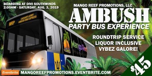 Mango Reef Party Bus Experience to Am Bush  Bim 2019